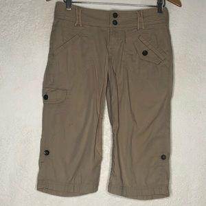 DKNY Jeans Woman Cargo Capri #2